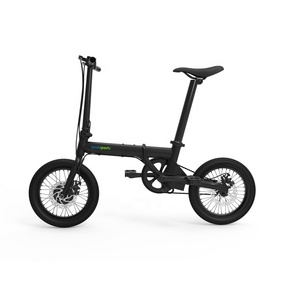 2019 mini Folding Electric Bike 16-inch 3 speed 36V Lithium Battery
