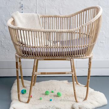 Unique Rattan Baby Bed Wicker Cane Baby Crib Buy Rattan Crib