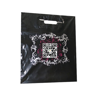 Custom Design Printed Made Label Shopping Carry Plastic Bags - Buy ...