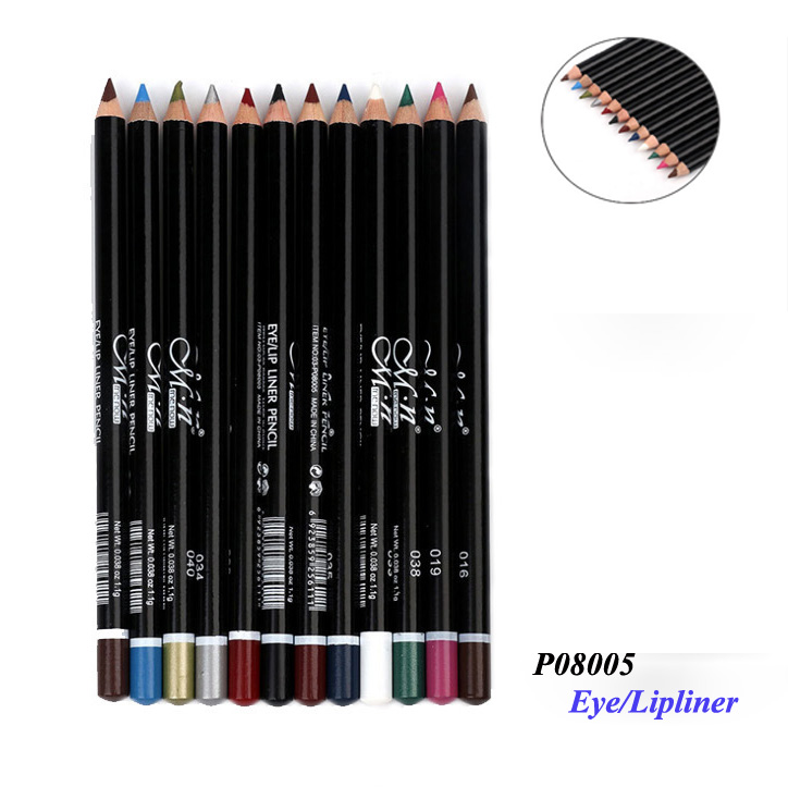 Menow P08005 Pro makeup wooden lip and eye pencil