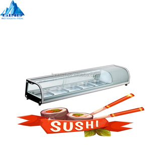 1300mm sushi showcase 52L sushi displays cold food bars