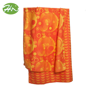 China Manufacturer Supply Custom Caro Peri Microfiber Bath Towel