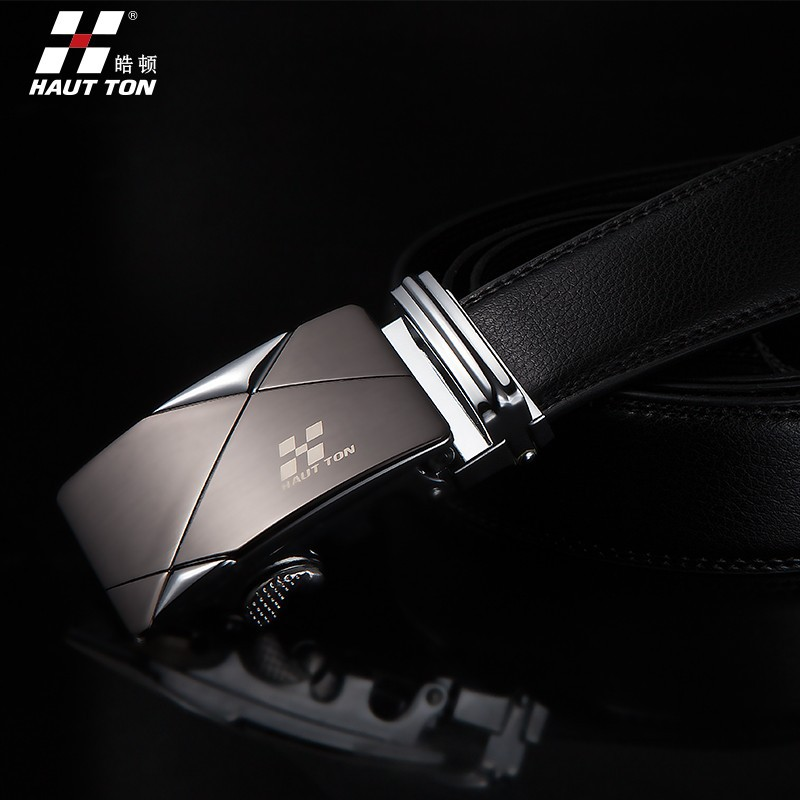 ZDK11 man fashinable automatic buckle belt wholesale leather belt strap