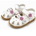 Girls shoes sandals summer 2017 Children Fashion Causal Flat Flower Soft Bottom Girls Sandal Shoes