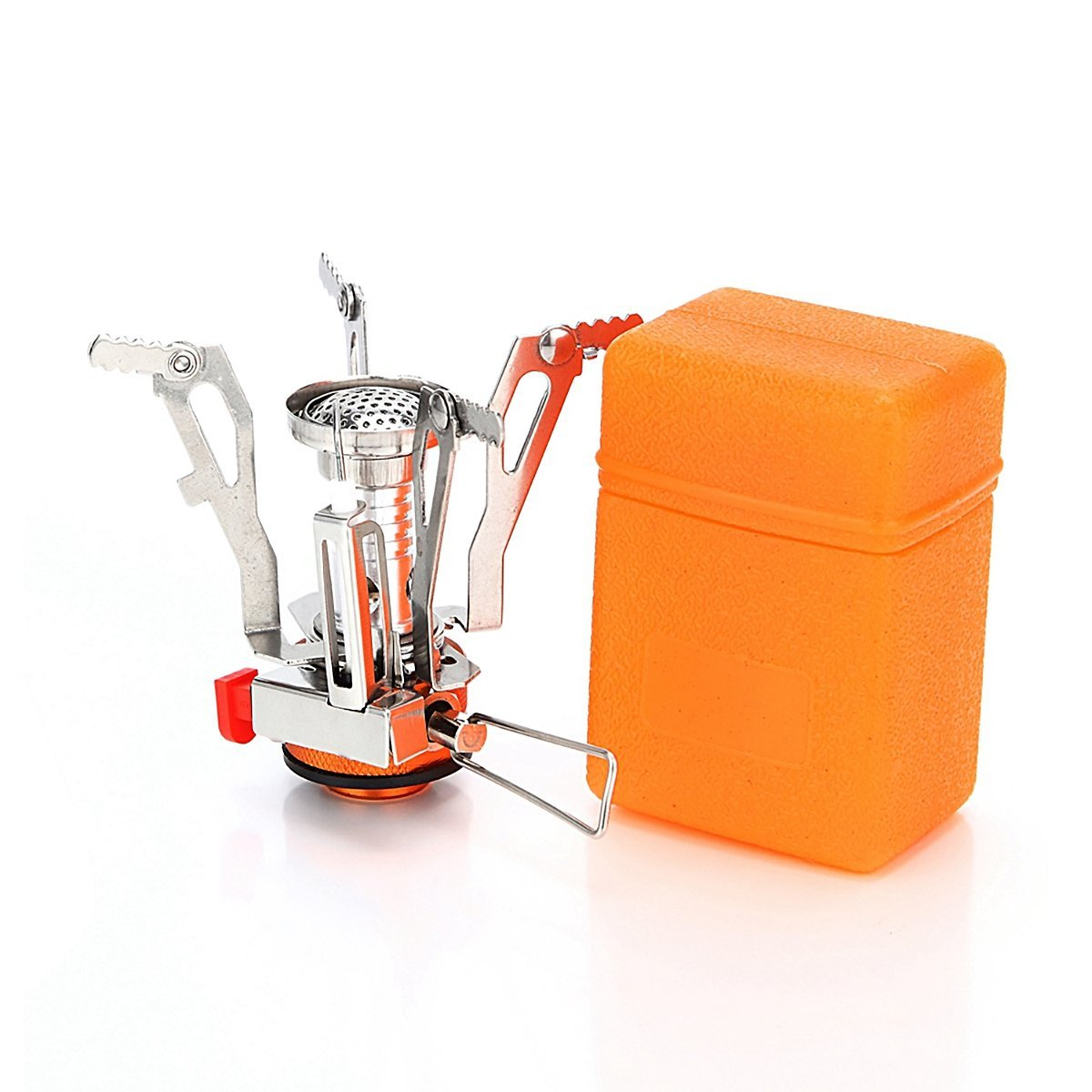 Ultralight Collapsible Portable Folding Camping Stoves Mini Burners Stoves Outdoor Backpacking Stoves