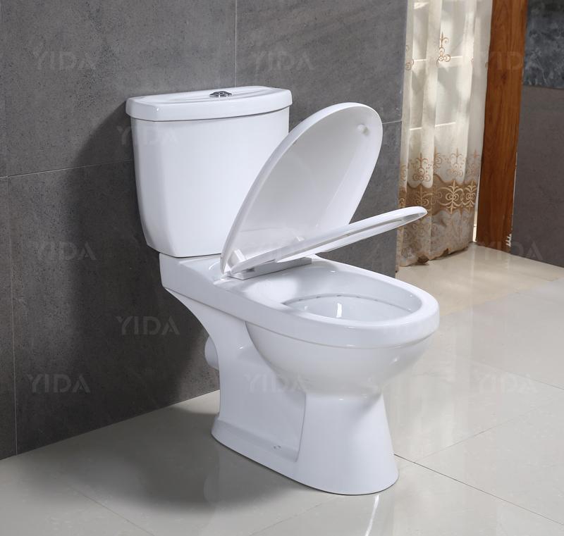 2018 European Design Big Size Ceramic Sanitary Ware Two Piece Wc ...