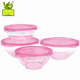 SLYPRC microwave oven safe glass mixing bowls