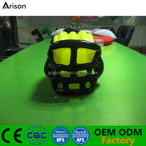 Factory cheap durable inflatable American football helmet hat inflatable helmet toy for promotional toys