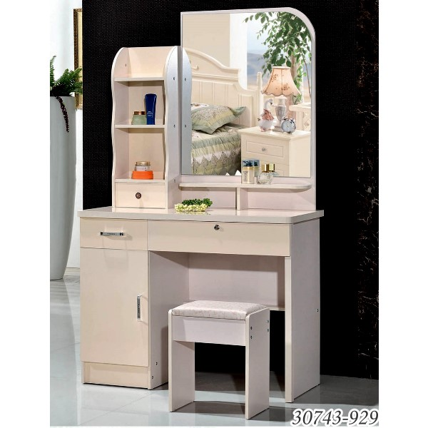 Wooden Dressing Table With Mirror,Bedroom Dresser Furniture 10