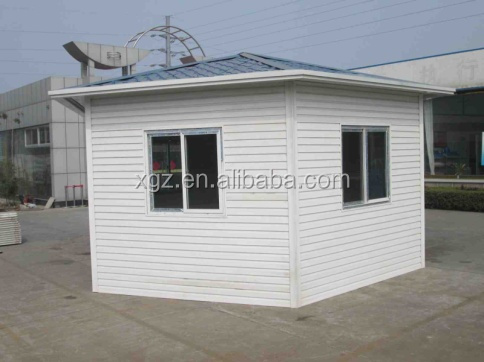 Low Cost Steel Structure Prefabricated Shed Garden