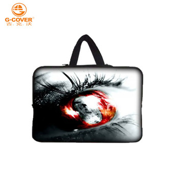 "Full printing neoprene laptop bag Compatible with for 17""- 17.3"" MacBook/ Ultrabook/ HP/ Acer"