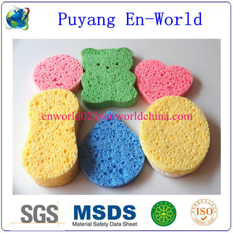 face cleaning cellulose sponge pad