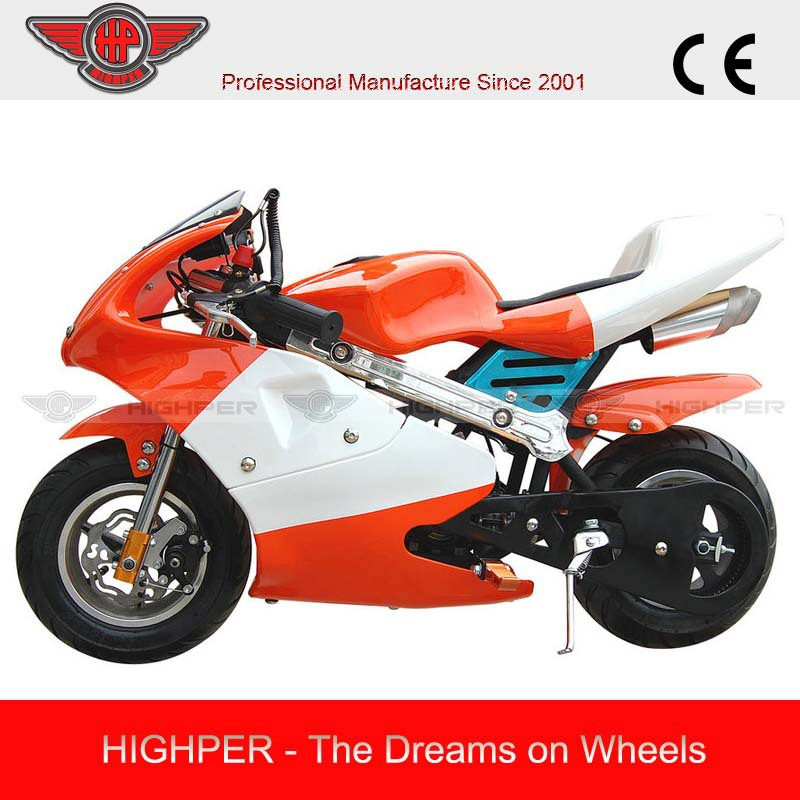 49CC Gasoline Engine Gas-powered Pocket Bike