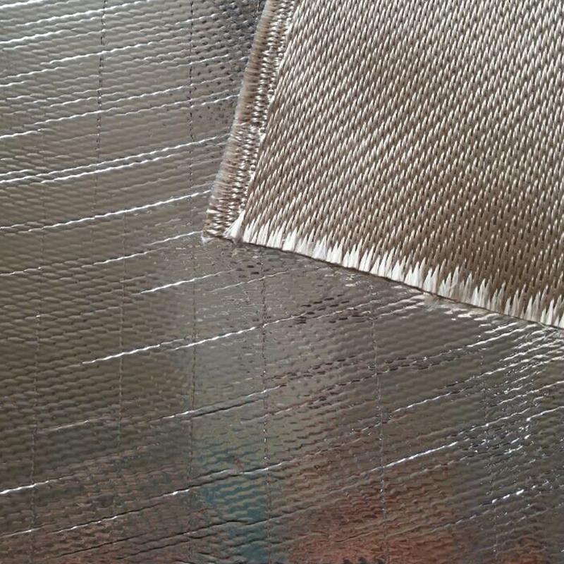 Nano Aluminiumfolie Faser Anti-Strahlung und Anti Scanning EMI Abschirmmaterial rfid Blockiergewebe PVC Aluminiumfolie Blister