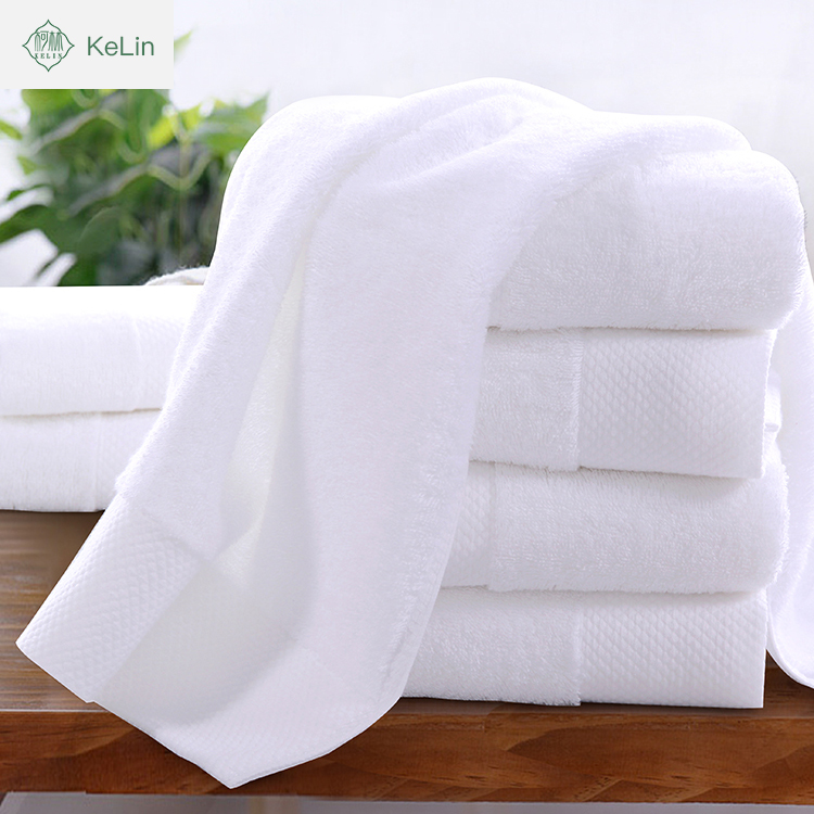 hot cake 100% cotton best white plain dobby bath face towel quick dry