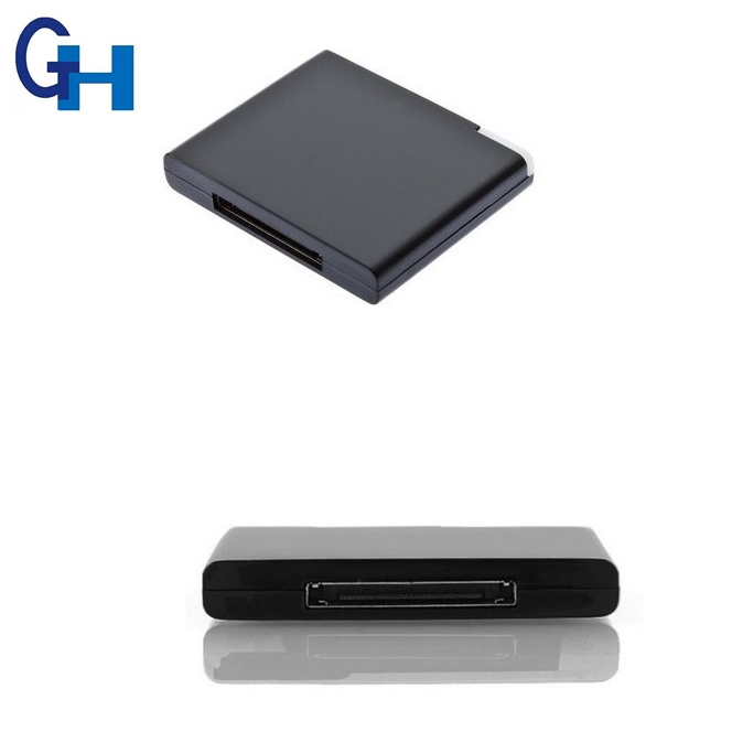 Bluetooth 2.0 30 Pin Wireless A2DP Music Audio Receiver Adapter for iPhone Grace