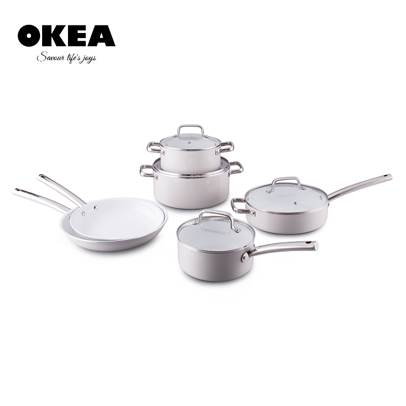 Stainless Steel Kitchen Queen Cookware Pot Handles Set Product On Alibaba