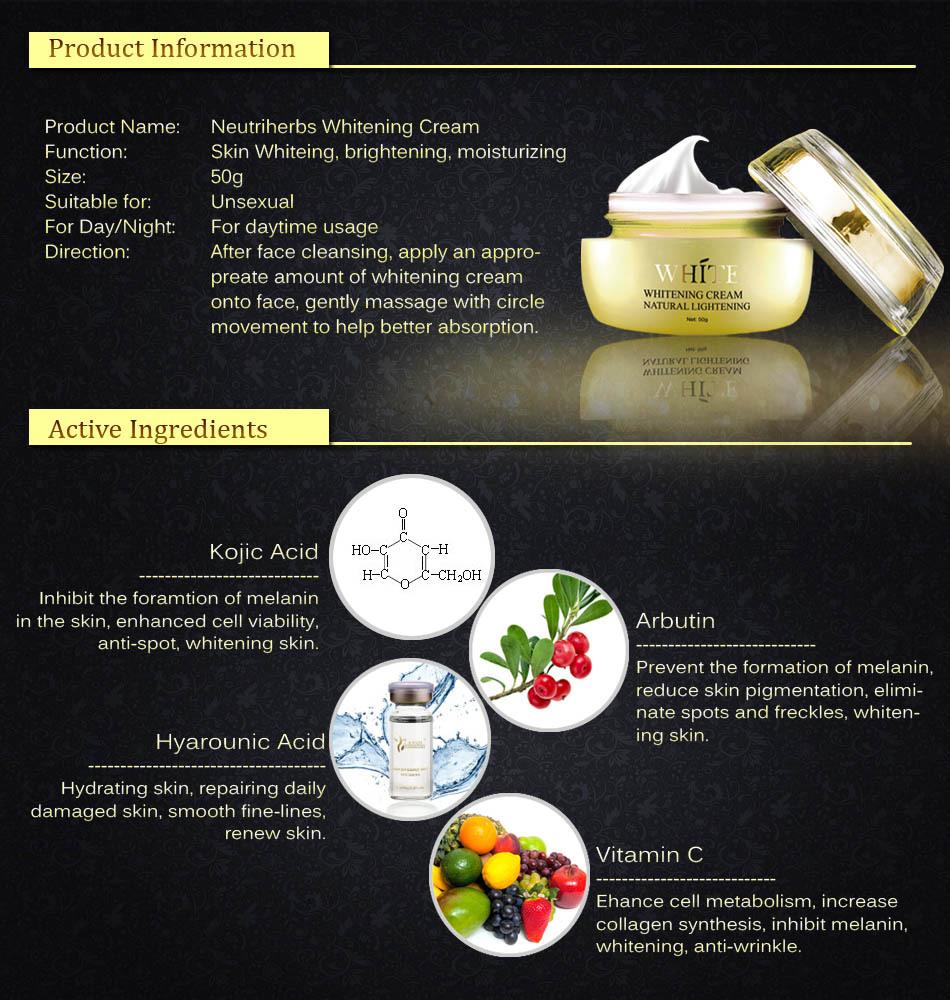 Brand Name 100% Natural 50g Skin Face Cream For ...