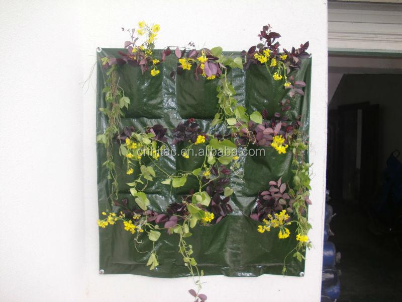 Upside Down Vertical Garden Hanging Wall Pocket Planter,Hanging Wall  Planter Pockets,Hanging Wall