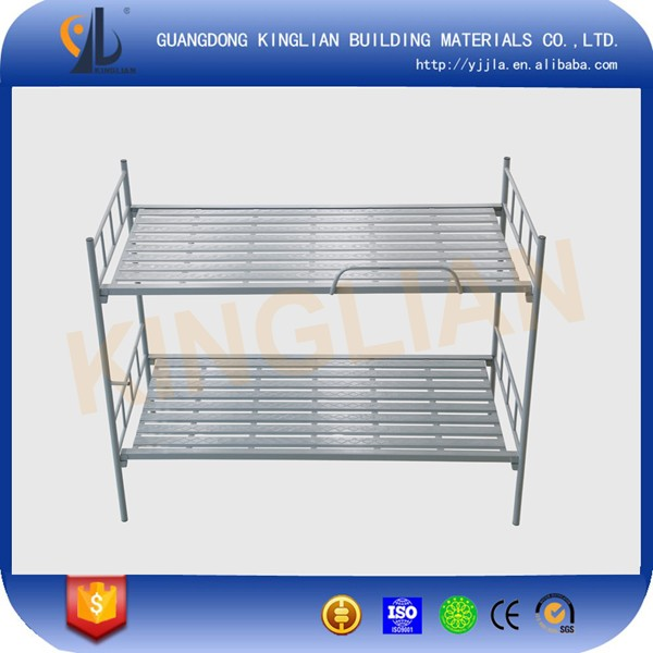 Kinglian Cheap Price Double Decker Metal Bunk Bed Are Used