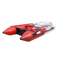 Durable PVC Inflatable One Person Boat with Paddle