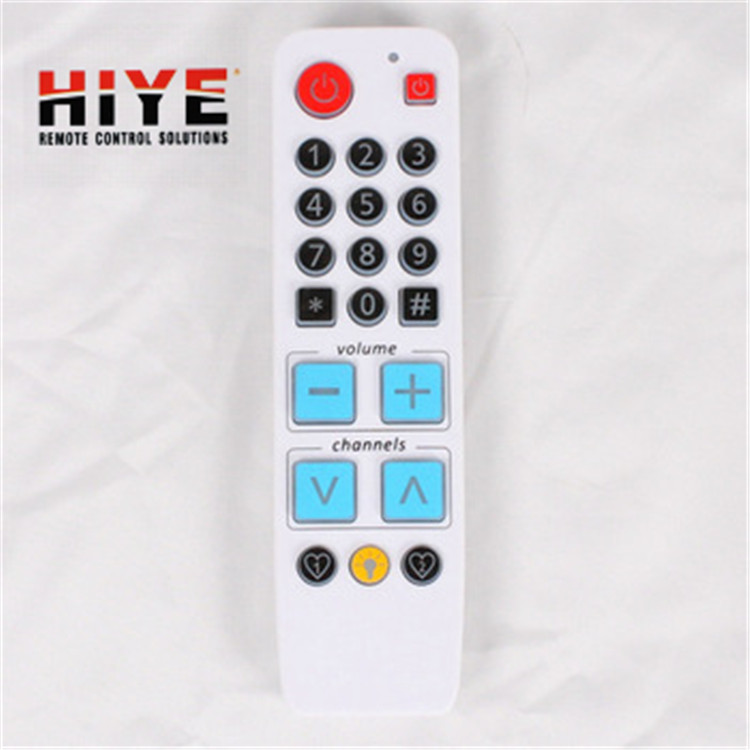 Big button one for all codes universal tv remote control learning remote control with backlight