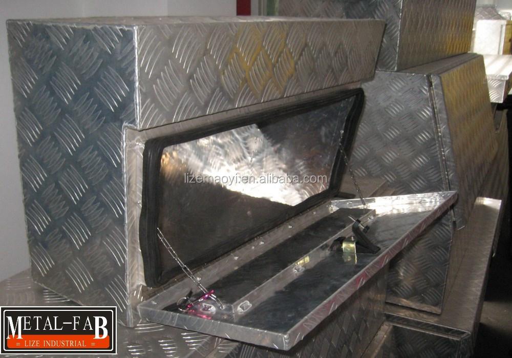 Aluminum Trailer Truck Storage Tote Tool Box Buy