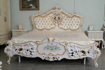 Bisini French Style Bedroom Furniture, Luxury Baroque White Bedroom  Furniture, Luxury Bedroom Set, View luxury bedroom furniture, BISINI  Product ...