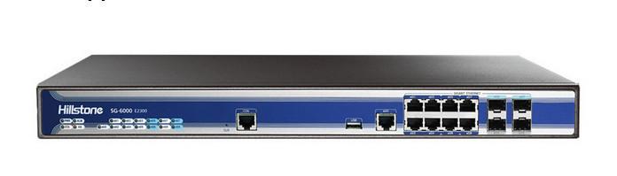 Original china hot sale vpn firewall hillstone next generation firewall sg-6000-e2300
