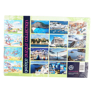 Wholesale Educational World Famous Scenery Jigsaw Children Map Puzzle