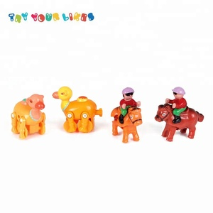 Promotional Toy Cheap Wind Up Plastic Toy Mechanism Wind Up Horse Toys For kids