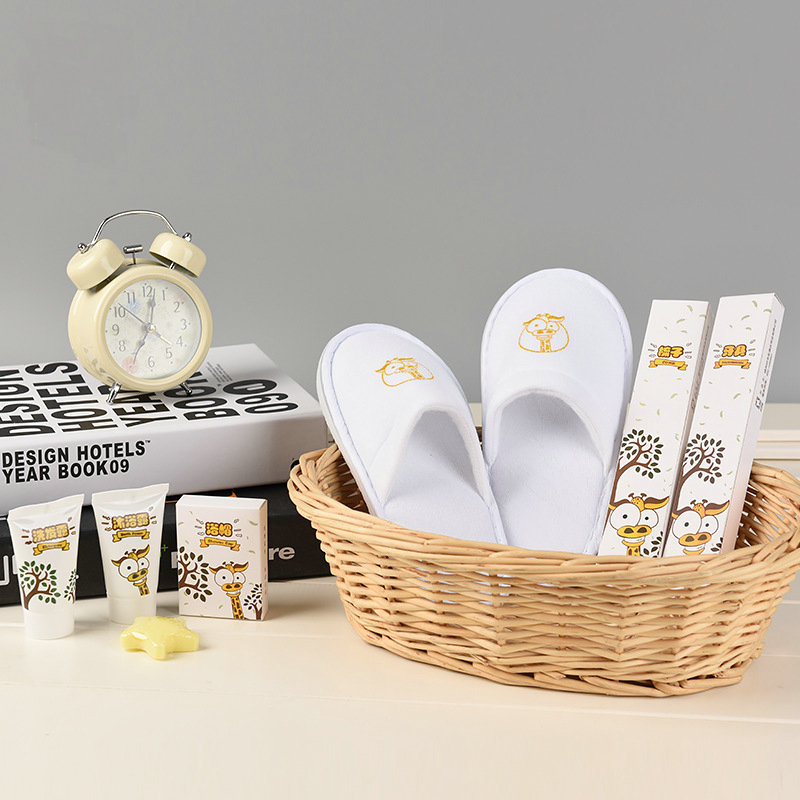 Personalisierte Kinder Tier Pflegeprodukte Geschenk Hotel Bad Toiletry Set