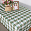 Wholesale Custom cotton linen party table cloth tablecloth