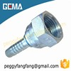 22211 Neha Tubes Fittings High precision casting Bsp Female Flat Seat hose fitting with hyundri custome ermeto fittings