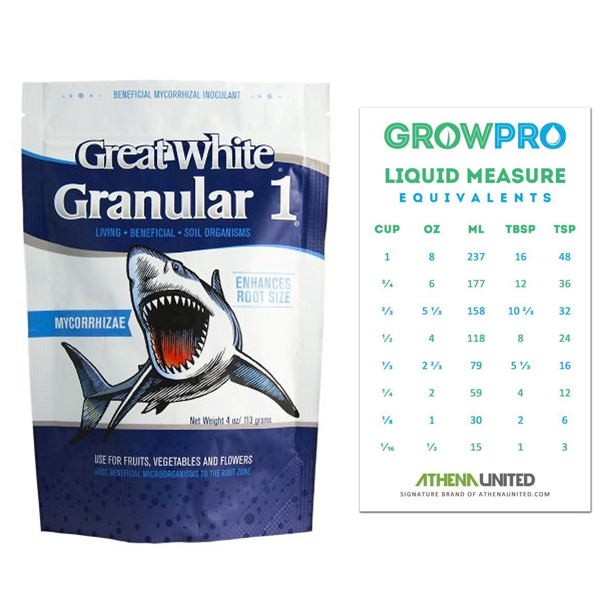 Cheap conversion chart find conversion chart deals on line at get quotations great white granular 1 organic mycorrhizal inoculant 4 oz grow pro measure conversion chart magnet nvjuhfo Images