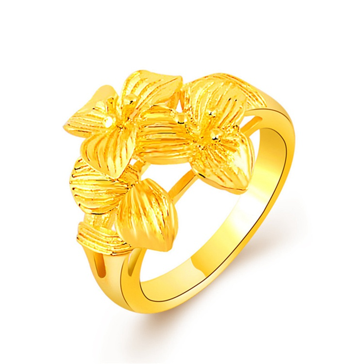 3ylr 007 New Design Gold Finger Ring Models Gold Ring Jewelry