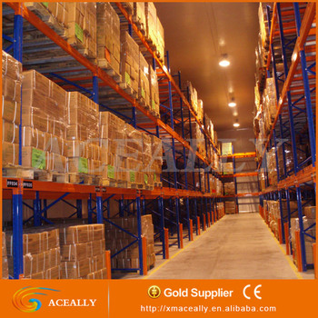 ACEALLY Heavy Duty Warehouse Push Back Steel Pallet Racking/Storage Rack System