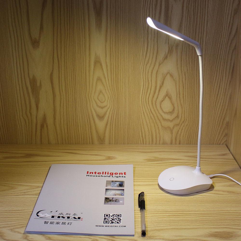 Rechargeable Led Desk Lamp Touch-dimmer Work Desk Led Lamp Light ...