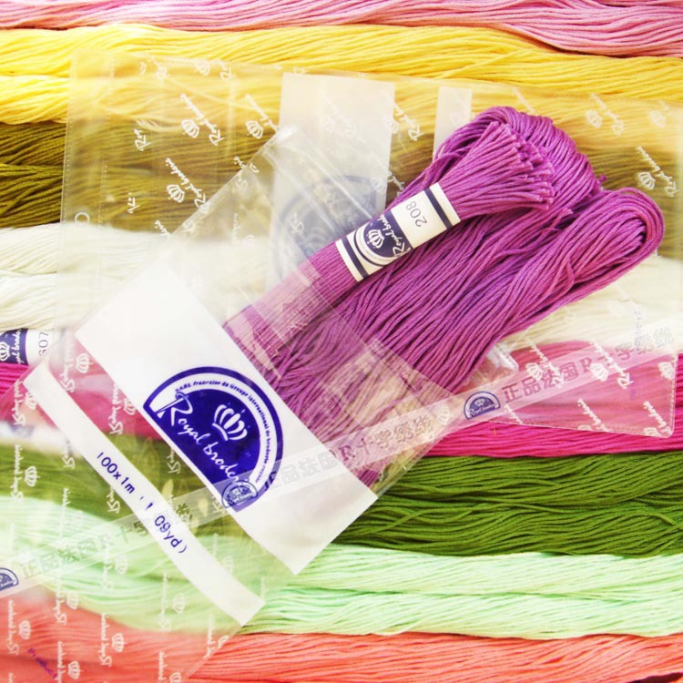 Wholesale 100 Cotton Cross Stitch Line Hand Embroidery Thread For