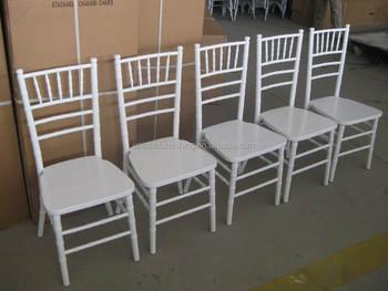 China Cheap Sale White Wedding Chairs Rentals