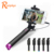 Ranphys high quality universal foldable extendable selfiestick pocket monopod handheld wired selfie stick