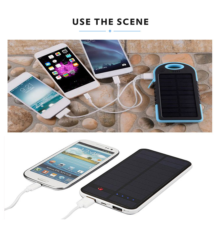 Fashion power bank dual usb car portable phone charger