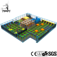 Quality large sized indoor sports trampoline equipment prices
