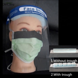 Disposable dental face protective mask with shield/disposable mask with sponge for Ebola virus