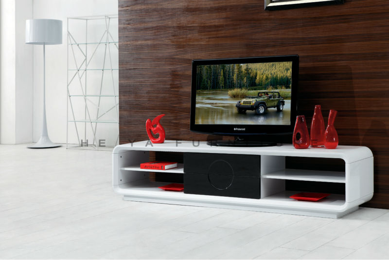 White Tv Stand Mdf Board Corner Tv Stand For Flat Screens