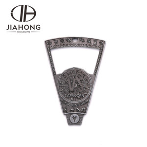Specialized zinc alloy metal custom zodiac constellation bottle opener set for beer