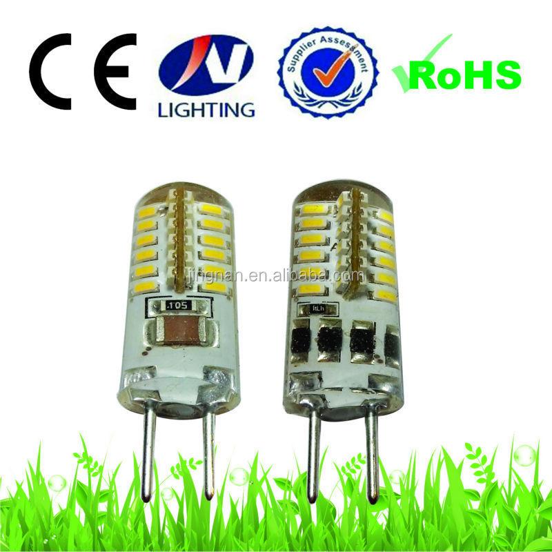 Wholesale China Led G4 Gy6.35 Bulb 230v Silicone 3w 2700k Gy 6.35 ...