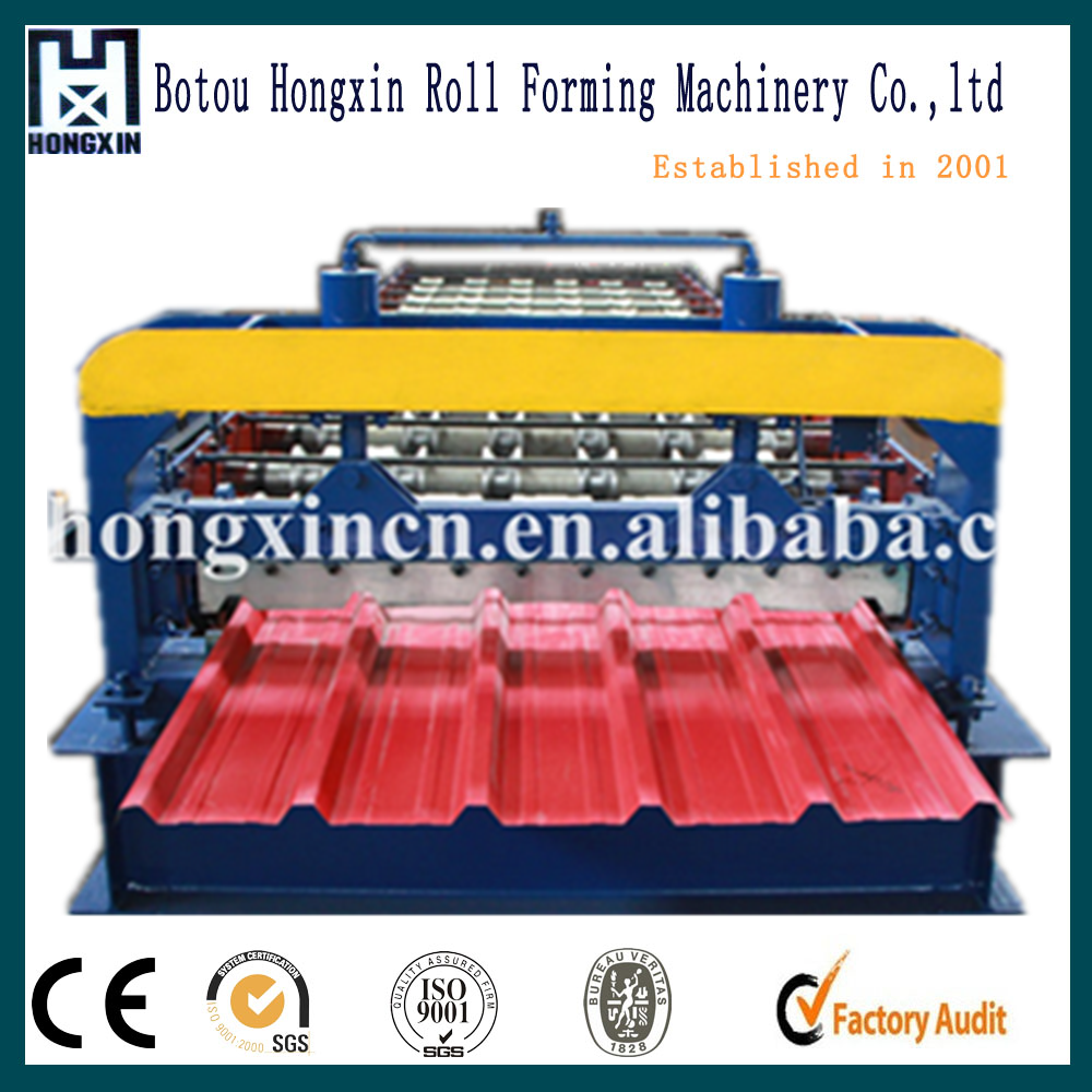 1000 mm a machine for roof tiles/adjustable roof profiling machine/alibaba china rollform