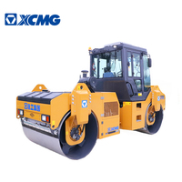 XCMG 8 ton vibratory road roller XD82 road construction equipment for sale
