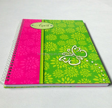office stationery & school supply of die cut spiral notebook wholesale